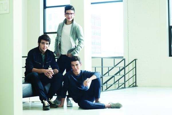 Piero Barone, Ignazio Boschetto y Gianluca Ginoble integran el trío Il Volo.
