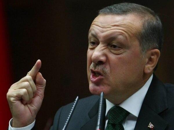 Erdogan el miércoles anterior en el parlamento turco en Ankara. | AFP.