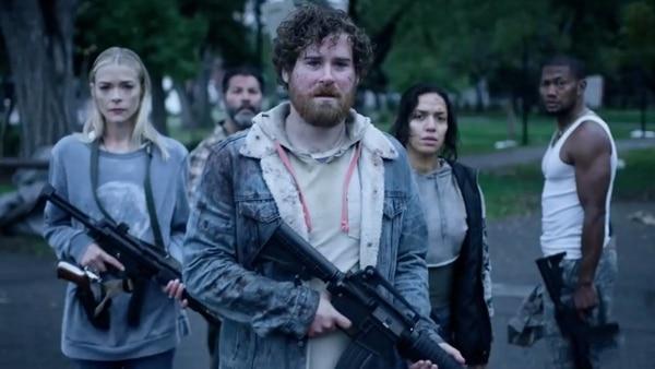 Un improbable grupo de sobrevivientes forma alianza para hacer frente al apocalipsis zombi en 'Black Summer', serie que Netflix estrenó este 2019. Netflix para LN.