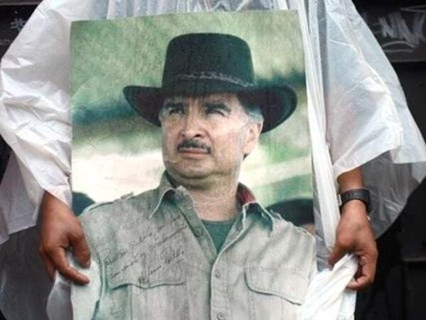 Protesta ayer en Guatemala contra la extradición de Portillo. | AFP.
