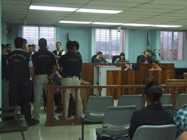 La sentencia se dictó en el Tribunal de Juicio de Cartago. | JORGE CALADERÓN.