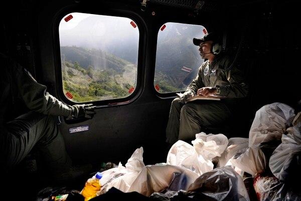 Los vuelos coordinados por el SVA han sido ininterrumpidos desde que comenzó la emergencia. | FOTO: RAFAEL MURILLO