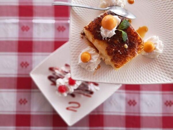 Experiencia gastronómica en el restaurante Gubser Ticino. Foto: Osvaldo Calderón