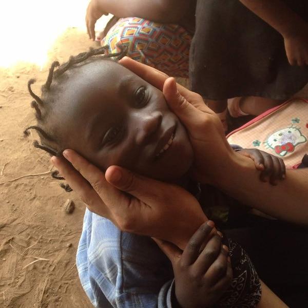 Los niños son quienes más sufren por el drama vivido en sus países en África. Fotografía: Javier Camacho Valerio
