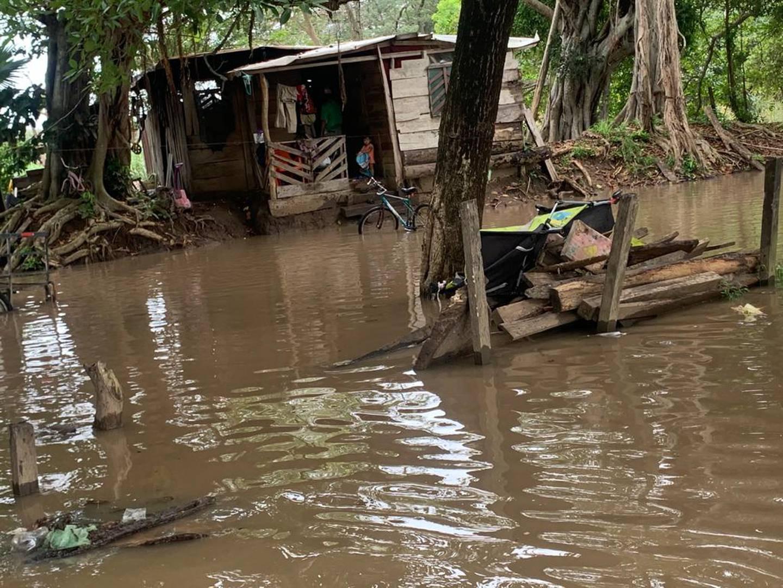 Guanacaste tuvo los mayores embates de lluvia e inundaciones por efecto indirecto de la tormenta tropical Marco. Foto: Cortesía CNE.