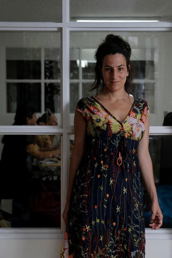 Núria Güell compartió su taller sobre arte político durante dos semanas en Casa Caníbal, espacio experimental del Centro Cultural de España.