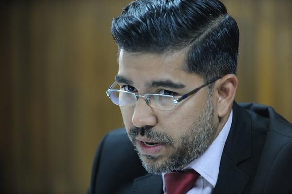 Originario de Atenas, en Alajuela, Jorge Luis Araya Chaves tiene 36 años y es, además, subdirector ejecutivo de la Uccaep. JORGE CASTILLO