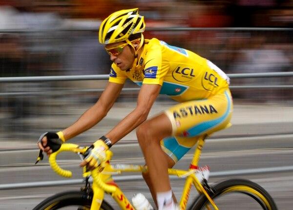 Alberto Contador ha ganado dos veces el Tour de Francia.