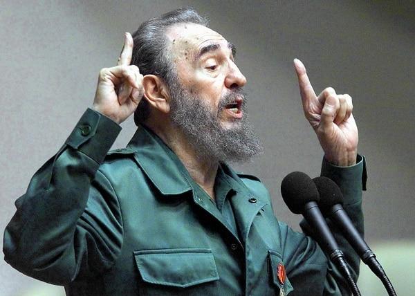 Archivo.Fidel Castro, de 86 años, está alejado del poder desde 2006 por una grave crisis de salud.