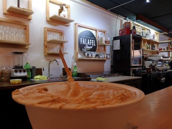 Experiencia gastronómica en Falafel House