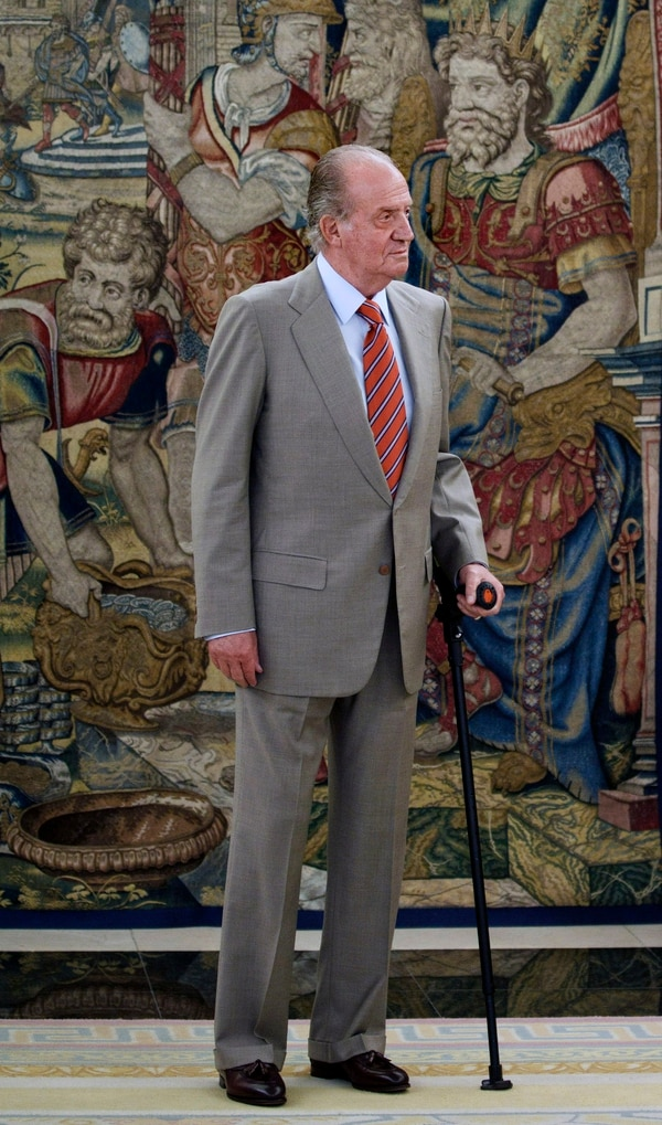 Esta es la primera actuación judicial admitida contra Juan Carlos I