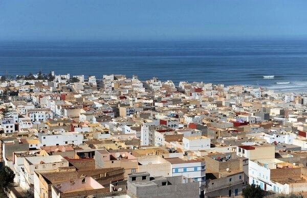 Vista general de la ciudad costera marroquí de Sidi Ifni, la cual estuvo bajo el protectorado español entre 1934 y 1969.