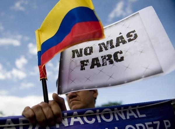 AFPLas FARC tienen unos 9.000 miembros.