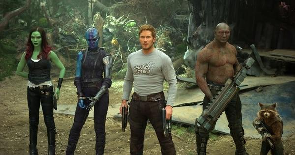 Los guardianes son los nuevos consentidos de Marvel. AFP.