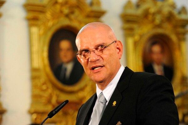 Henry Mora, presidente de la Asamblea Legislativa. | MAYELA LÓPEZ.