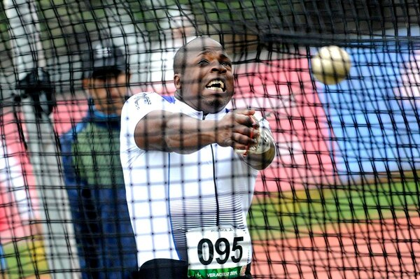 Roberto Sawyers representará a Costa Rica en el lanzmiento de martillo en Río 2016