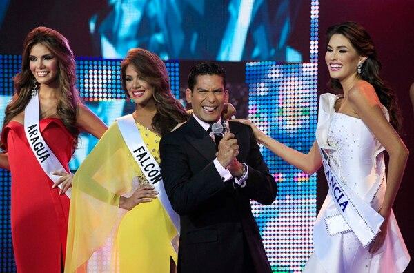 De nuevo. Ismael Cala conducirá de nuevo la final del certamen. AP