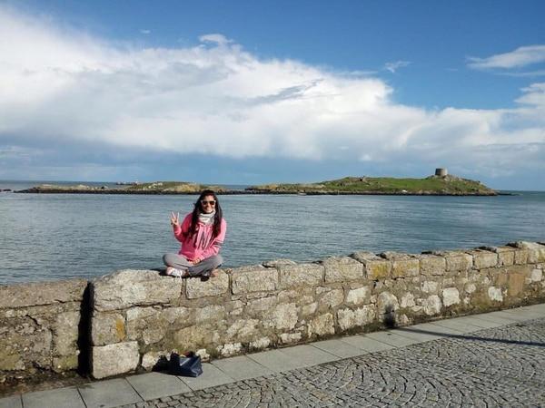 Mariana Ramírez Villanueva es oriunda de Limón. En la imagen, en la República de Irlanda.