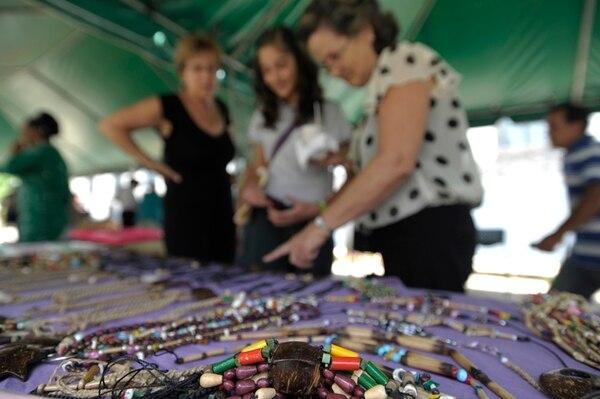 Identidad. Ambas ferias son de entrada libre y ofrecerán artesanías de creadores locales. Pablo Montiel
