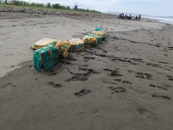 La presunta droga fue hallada en Isla Damas de Quepos. Foto: Pegando Porte.