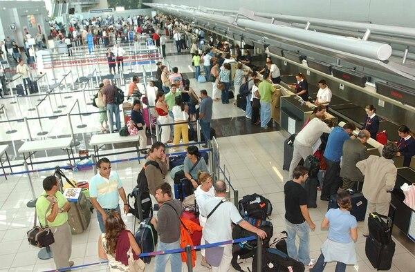 En el Aeropuerto Internacional Juan Santamaría, Alajuela, es donde opera la mayor cantidad de aerolíneas y rutas de pasajeros. | HERBERT ARLEY, GN.
