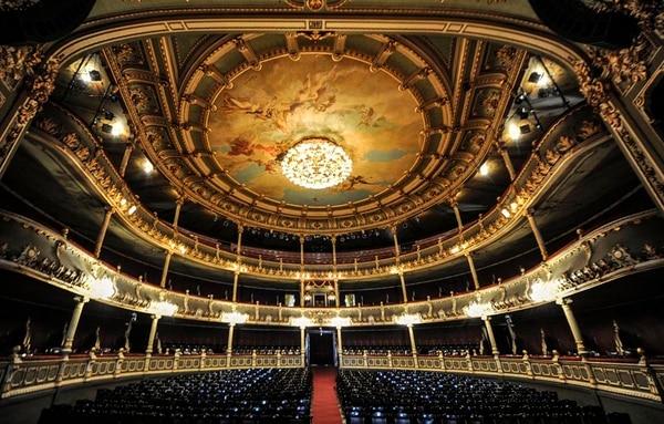 Vista desde el escenario hacia el público. Foto: Jorge Castillo