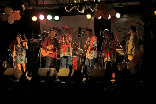 Kawe Calypso (grupo del que forma parte Danny Williams) será parte del festival. Foto: Albert Marín.