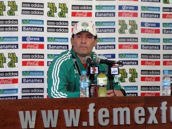 José Manuel El Chepo de la Torre esperan que la Tricolor se encierre más y les complique sacar el triunfo en el Estadio Azteca | JOHAN UMAÑA