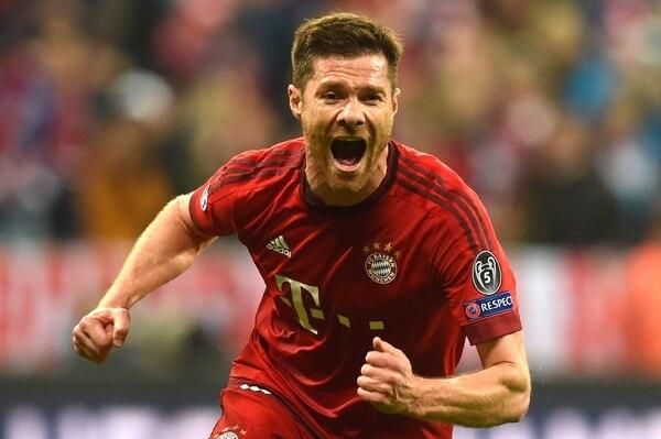 Xabi Alonso es jugador del Bayern Múnich desde 2014.