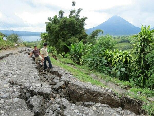 San Carlos sufrió hace casi un año los efectos del terremoto de Nicoya. Este fin de semana en la zona se inició un pequeño enjambre sísmico y hoy tembló otra vez..