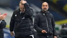 Marcelo Bielsa y Pep Guardiola firman tablas y ven alejarse al impecable Everton en la Premier League