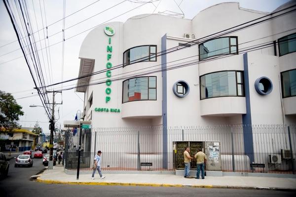 Sede del Incofoop, en calle 20, San José. Fotografía Marcela Bertozzi