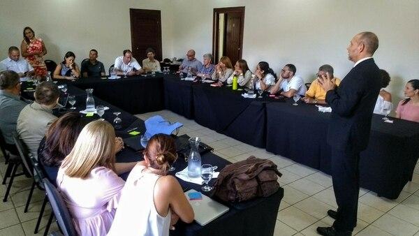 La constitución de la Asociación de Administraciones de Condominios se realizó en el Hotel Casa Conde.Foto: cortesía de Ignacio Alfaro.