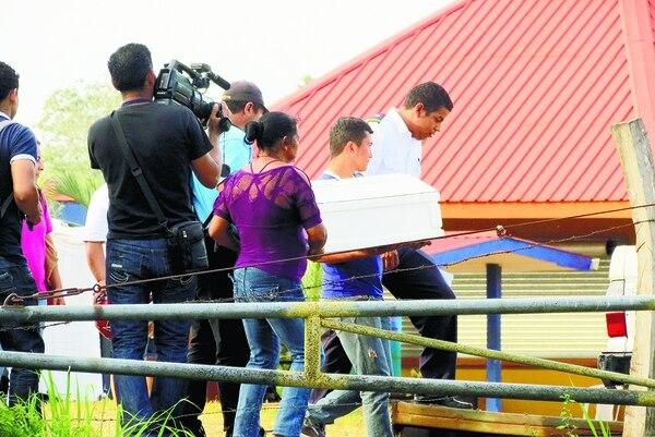 Dos tíos llegaron de Nicaragua a reclamar el cuerpo del niño de dos años que fue torturado y asesinado en La Virgen de Los Chiles.