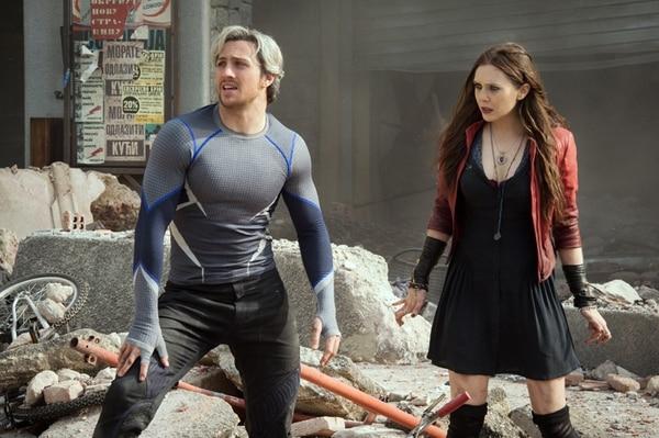 Los gemelos Wanda Maximoff (La bruja Escarlata) y Pietro Maximoff (Quicksilver) son dos nuevos personajes de la saga.