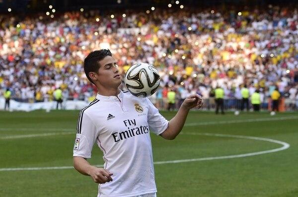 El Real Madrid anunció el préstamo de James Rodríguez al Bayern Múnich.