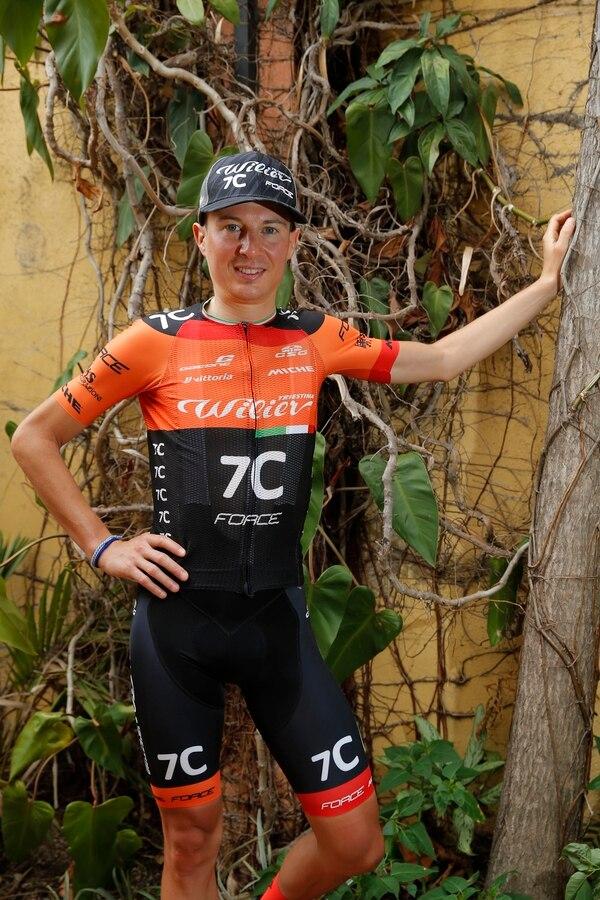 El italiano Tony Longo, del equipo Wilier-7C-Force, fue el campeón de la segunda edición del Trans Costa Rica en el 2017. Es el único europeo en participar en las tres ediciones. Fotografía: Mayela López