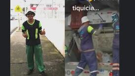 (Video) Conozca a Johan, el recolector de basura que baila swing criollo en su trabajo