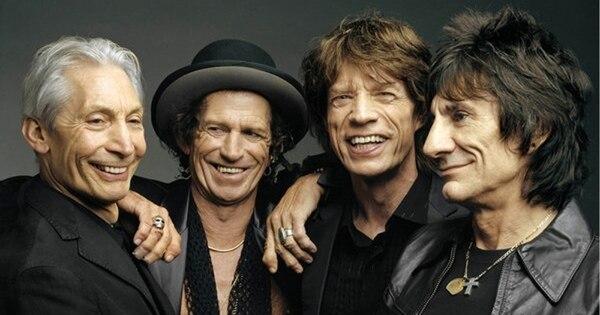 Con esta fotografía, del 2005, The Rolling Stones anunciaba su álbum de estudio 'A Bigger Bang', con el que celebraron los 62 años de Mick Jagger. Fotografía: AP
