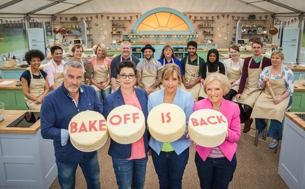 'The Great British Bake Off' es una serie británica con ocho temporadas al aire. Los creadores de la serie tomaron el concepto de los concursos estadounidenses de cocina de pasteles. Foto: cortesía BBC.