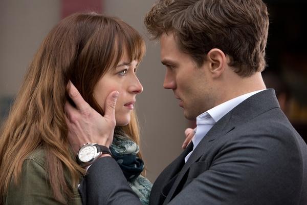 Los actores Dakota Johnson y Jamie Dornan son los protagonistas de la película 'Cincuenta sombras de Grey'.
