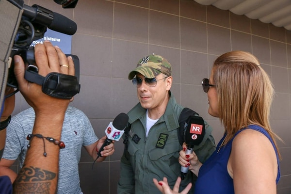 Jorge Enrique Abello (Armando Mendoza) arribó al país esta mañana. Foto: Arceyut Producciones.