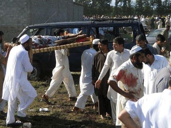Entre las víctimas se encuentra un diputado provincial. | AFP.