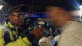 Siete conductores al día pasan a la Fiscalía por conducir borrachos