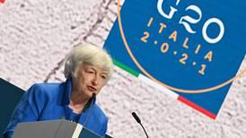 Países del G20 aprobaron impuesto global a las multinacionales