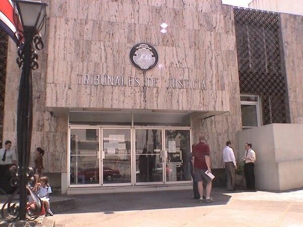 Alfaro fue llevado al OIJ, en la sede de Tribunales de Heredia. | ARCHIVO LN
