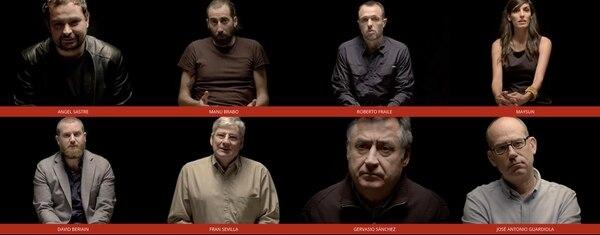 Ellos son parte del grupo de corresponsales de guerra que participaron en el laureado documental 'Morir para contar'. Captura de pantalla