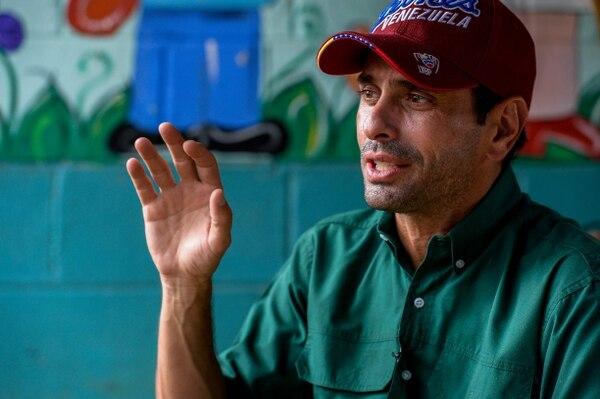 Capriles anunció una serie de manifestaciones para que el revocatorio sea este año.