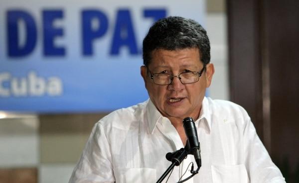El comandante de las FARC Jorge Torres Victoria, alias