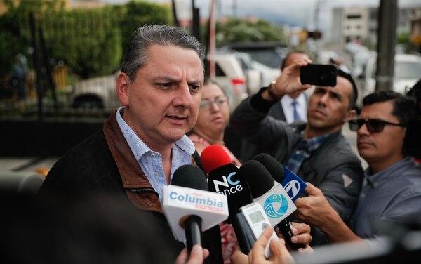 Javier Chaves, insistió en su inocencia y dijo que seguirá al frente de Aldesa. Foto:Jeffrey Zamora.